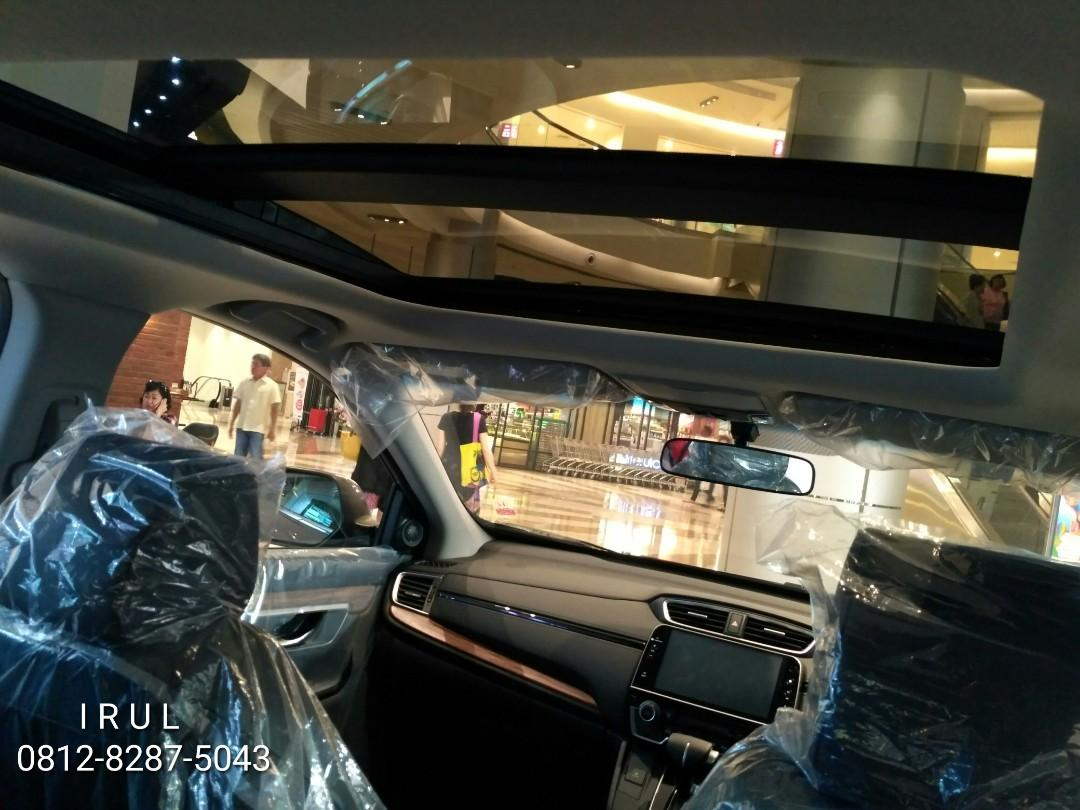 Ready Stock CR-V 1.5 Turbo Prestige Promo Bombastis minggu ini ayo boking unitnya skrg juga free E-Toll 1 juta