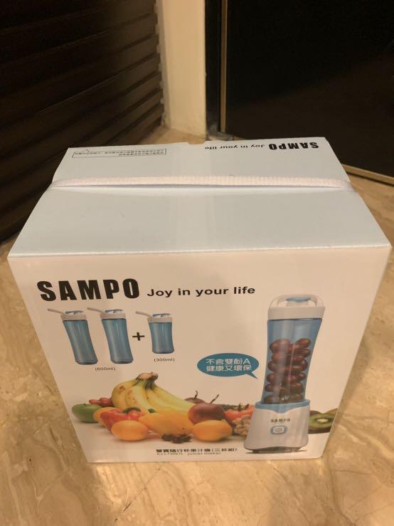 SAMPO 聲寶 隨行杯果汁機(三杯組)