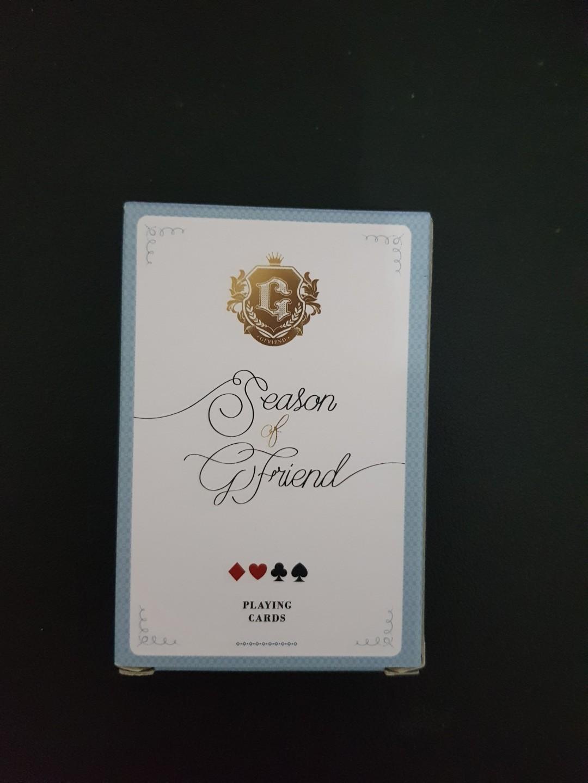 Season of Gfriend Poker play card set