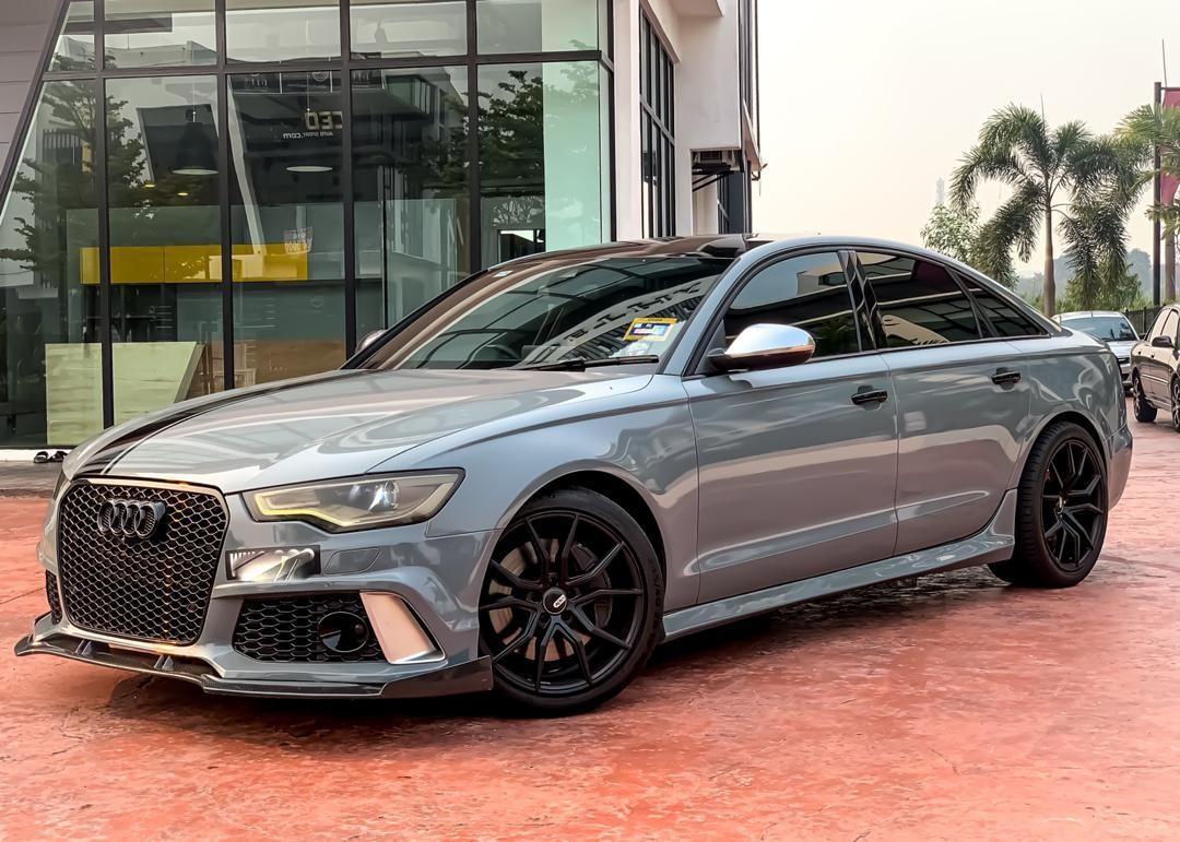 SEWA BELI>>AUDI A6 400HP 3.0 STAGE 3 QUATTRO S-LINE(A) FULLY CONVERTED TO RS6 2011/2012