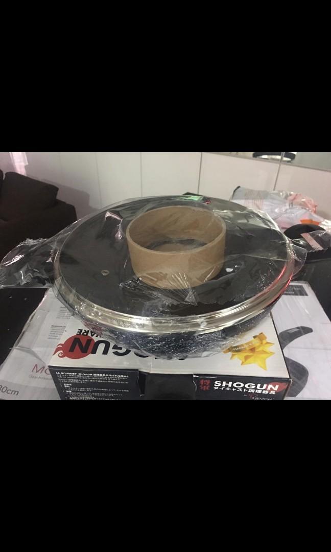Shogun Mini wok 26cm + lid (induction) + Free 3pcs utensil