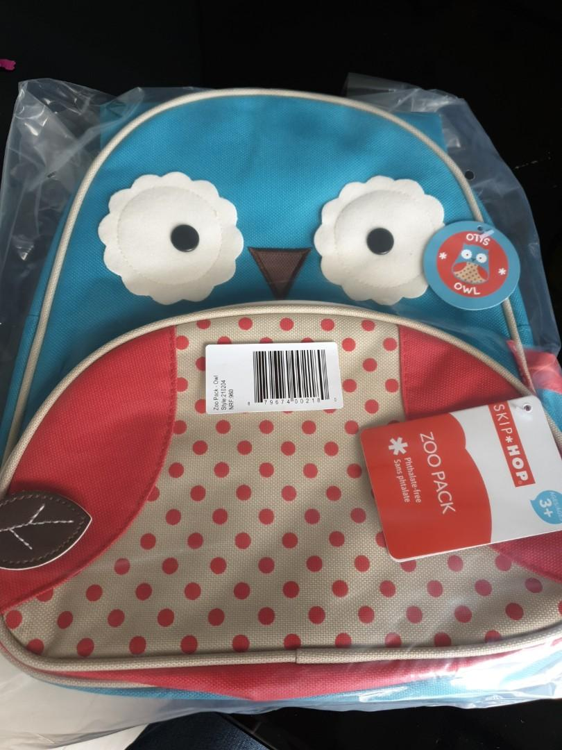 Skip hop zoo bagpack owl