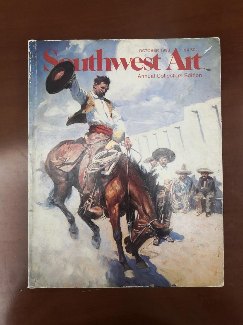 Southwest Art Oct 1983 Annual Collectors Edition
