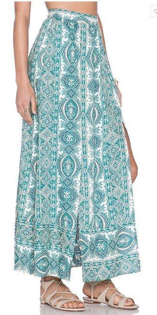 The Allflower Paisley Boho Maxi Skirt Spell Gypsy Arnhem XS