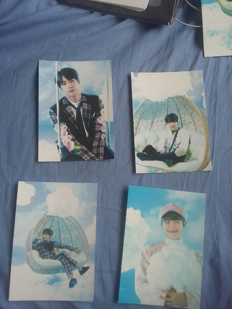 [THE WINGS TOUR OFFICIAL MERCHANDISE ] paper frame set ver.1