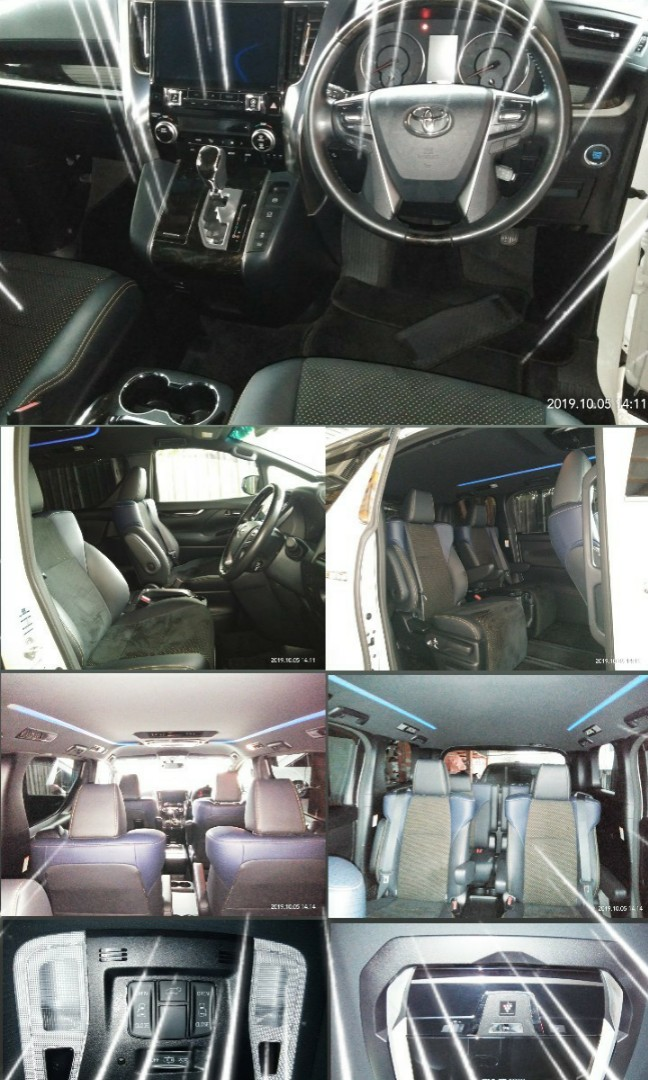 TOYOTA VELLFIRE GOLDEN EYE 2.5  YEAR:2017Recon on the road Price RM263,888.88