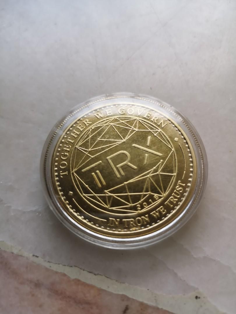 TRON gold coin (collectors  item)