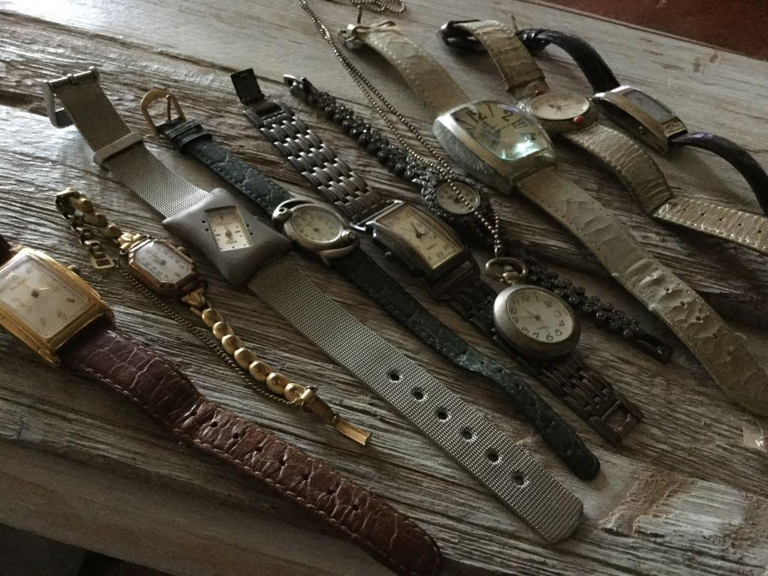 Vintage and Retro Watches $10