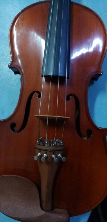 Violin Glossy Brown with Carry Case