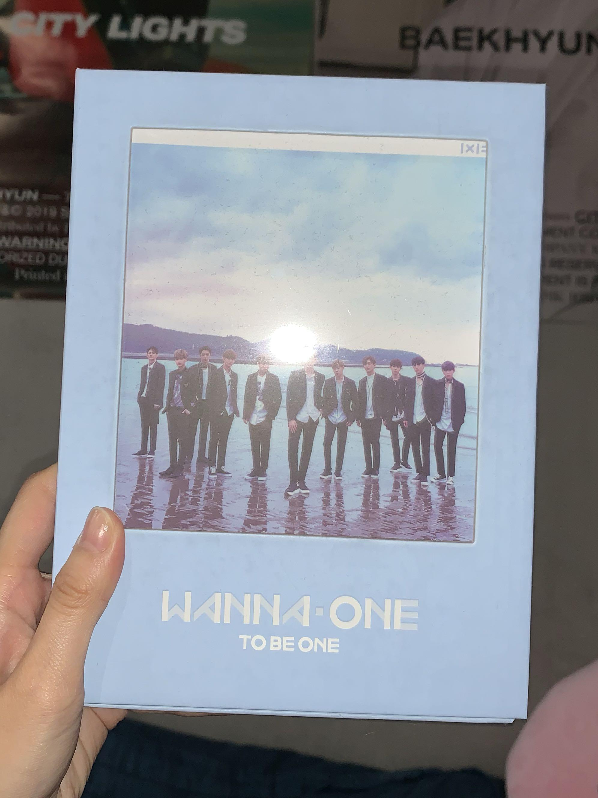 Wanna One 1 X 1 To Be One Album Guanlin Kuanlin Full Set