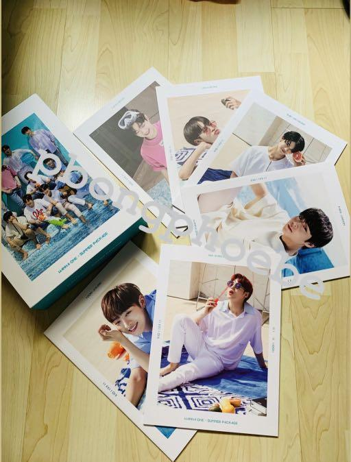 Wanna One Summer Package 2018