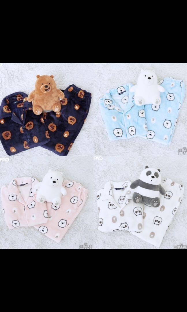 We Bare Bears Pyjamas