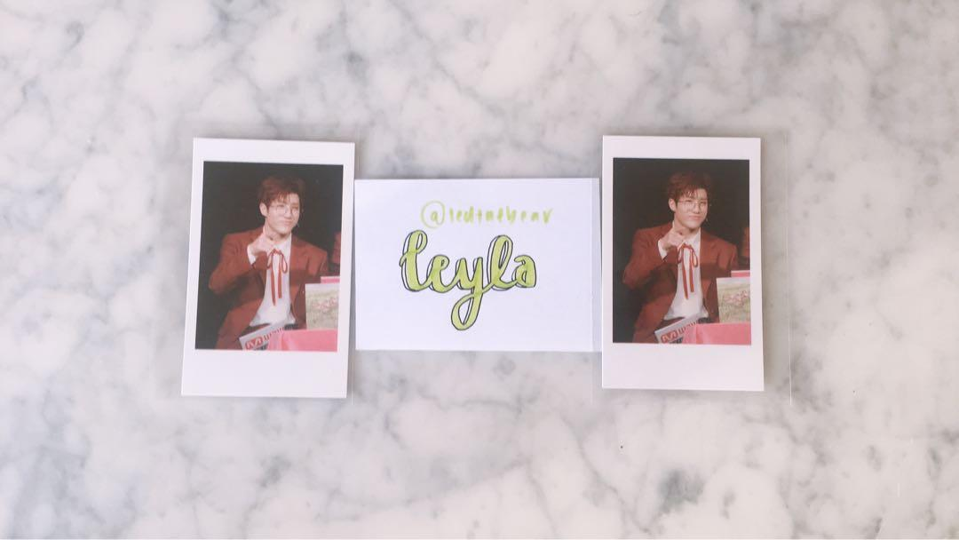 [WTS] RARE ASTRO JINJIN MWAVE 'Meet and Greet' Photocards