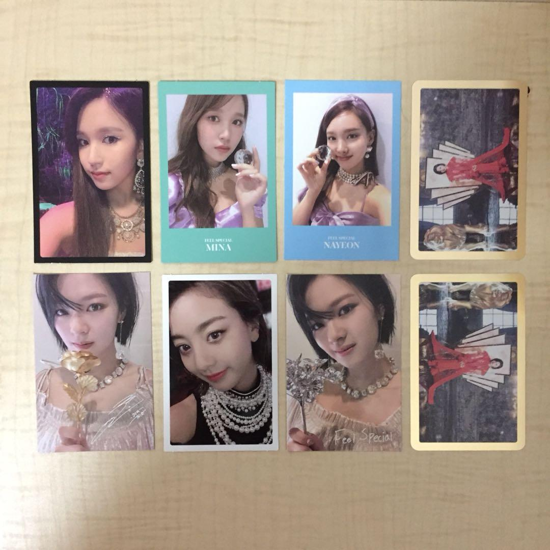 WTS Twice Feel Special Photocards