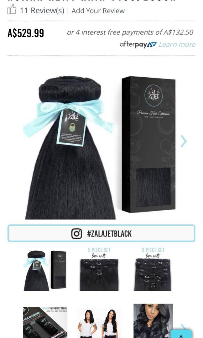 Zala 9 pieces hair extension