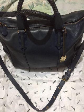 Jill Scott aqua blue two-way bag