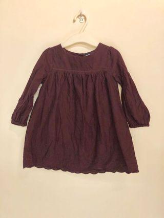 BabyGap 刺繡洋裝 18-24M