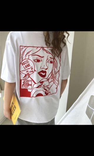 漫畫款T-shirt