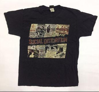 baju band punk Social distortion