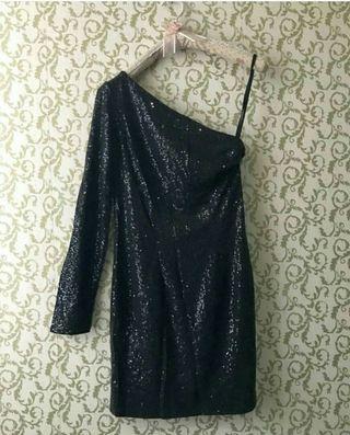 #visitsingapore mini dress one shoulder dress blink party kondangan