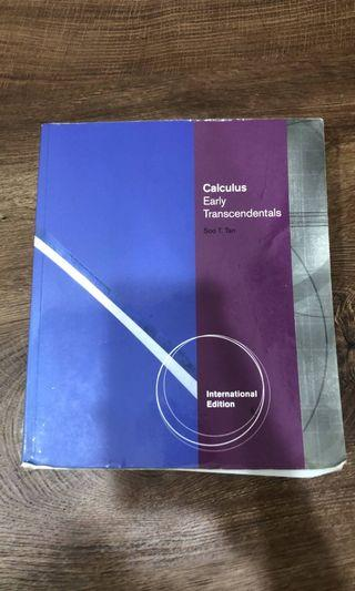 Calculus early transcendental International edition