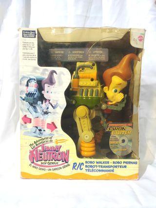 Vintage 90s Jimmy Neutron robo walker