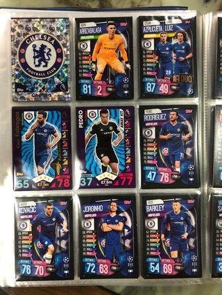 Match Attax - Chelsea, Manchester United, Spurs, City