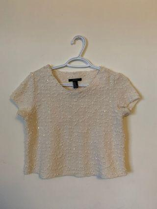 Forever 21 cropped top (Size M)