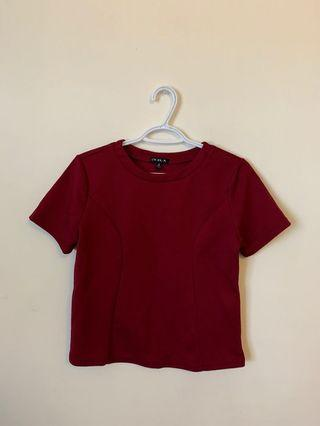Red Blouse (Size M)