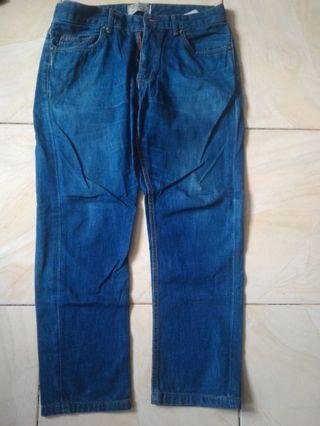 Pull & bear clana jeans denim no h&m uniqlo zara denim murah