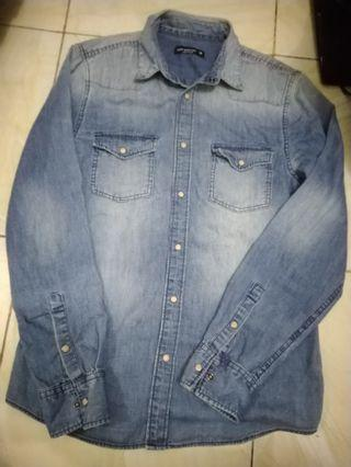 Cedar wood state jeans jaket denim no h&m uniqlo zara murah