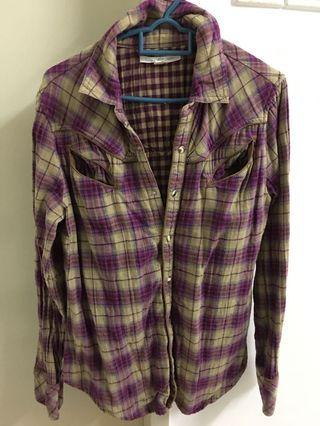 Levi's lady checkered shirt