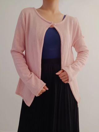 Pinkish Cardigan
