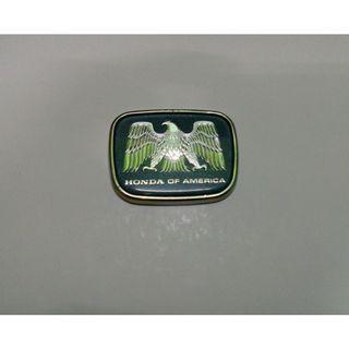 Rare Emblem USDM Honda America
