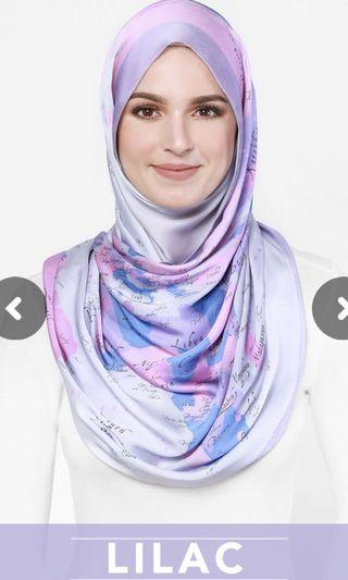 Duck Scarves The World Map Duck (Lilac)