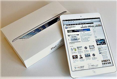 Apple iPad mini 2 32GB 8吋 brand new original original no scratches give a leather case glass stickers headphones charger 新原廠原裝 無痕紋 贈送皮套 玻璃貼 耳機 充電器