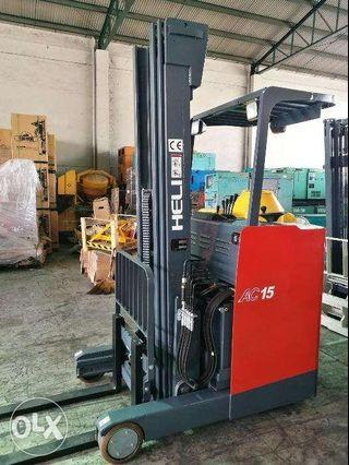 brand new electric reach truck electric forklift electric stacker