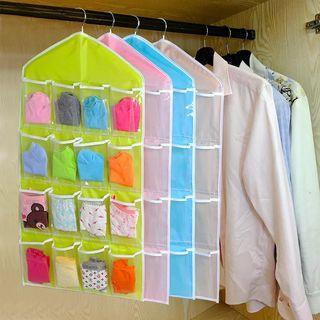 Hanger Gantungan Underwear Pouch Storage 16 Sekat