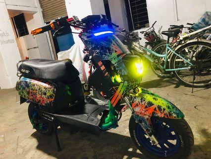 repost electric bicycle pantec .6 large battery hub motor 800w controller 1500 sold because it takes money inbox interests thank you Rende . Tainan 16500nego