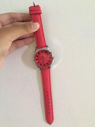 西瓜造型手錶