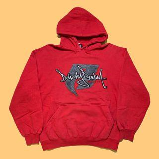JCI:Ruff Ryders 廠牌服裝支線 LOGO 紅色帽T / 東岸嘻哈 / 00s / Y2K / DMX