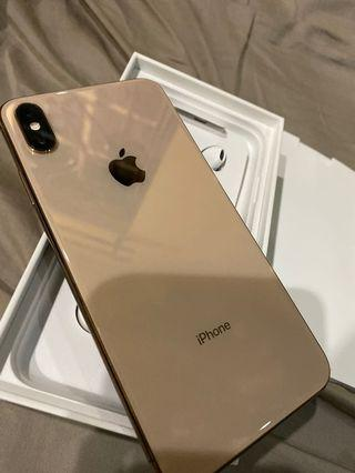 Iphone xs max 256Gb myset gold