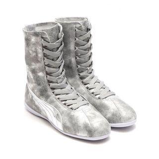 Eskiva High Ankle Metallic Boots