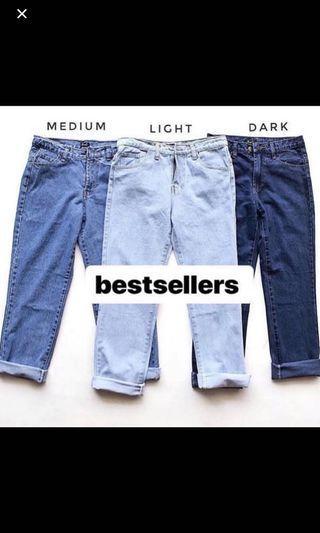 P&B boyfriend jeans