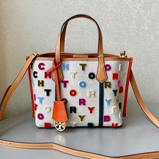 Authentic Tory Burch Perry filCouple tote Bag