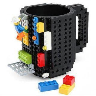 Lego Mug Gelas Build On Brick Unik