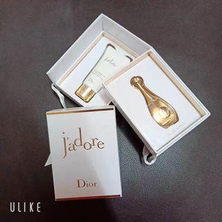 Brand new Dior Jadore minitures