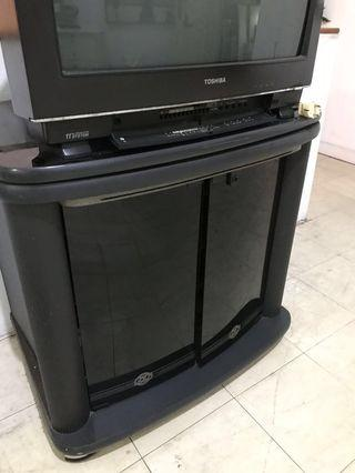 Cabinet utk: TV, DVD, decoder