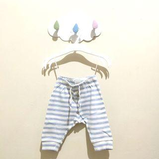 H&M pants blue stripes