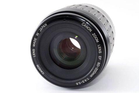Canon EF 80-200mm f4.5-5.6 中長焦旅遊鏡